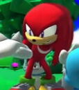 Knuckles the Echidna in Sonic Lost World