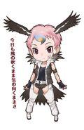 Lappet-faced-vulture-kemono-friends