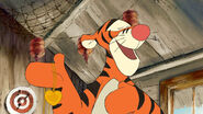 Tigger unable to realize the part of the locket