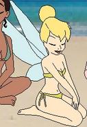 Tinker Bell's bikini
