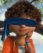 Tip blindfolded