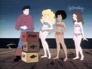 Captain Caveman & the Teen Angels 315 The Old Caveman and the Sea videk pixar 0013