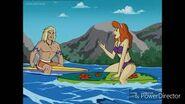 Daphne meets a local surfer.