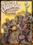 Eight Enormous Elephants Expertly Eating Easter Eggs