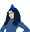 Evie-party-hat