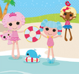 Jewel Sparkles, Marna Anchors and Dot Starlight in Swimsuits