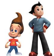 Jimmy Neutron and Astro Boy