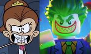 Prankster Luan vs Jokester Joker