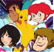 Shaggy and friends mocking team rocket motto 2nd