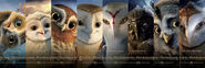 Slice legend guardians owls gahoole banner posters 01