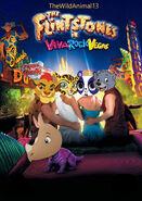 The Flintstones in Viva Rock Vegas (TheWildAnimal13 Animal Style) Poster
