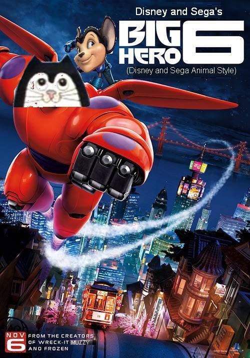 Big Hero 6 (Disney and Sega Animal Style)