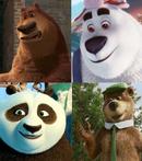 Boog, PB, Po and Yogi Bear (2010)