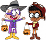 Darkwing Lincoln and Clyde McQuack