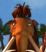 Ellie in Ice Age Continental Drift Arctic Games