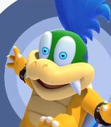 Larry Koopa in Mario and Sonic at the Olympic Games Tokyo 2020