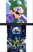Luigi Loves Teenage Mutant Ninja Turtles (2012)