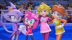 Peach, Daisy, Blaze the Cat and Amy Rose