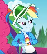 Rainbow Dash in My Little Pony Equestria Girls Sunset's Backstage Pass