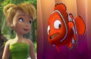Tinker Bell and Nemo