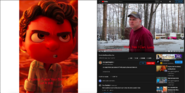 Luca Paguro vs Psycho Dad