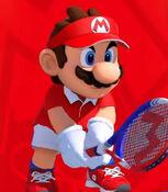 Mario in Mario Tennis Aces