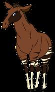 Princess Melody Spacebot okapi form thelionking2simbaspride in thespacebotsadventuresseries