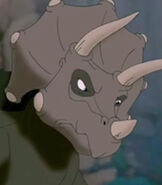 Topsy in The Land Before Time 11 Invasion of the Tinysauruses
