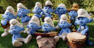 Various Smurfs