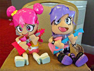 Ami and Yumi Rock Out Plushies