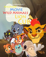 Another Movie of Wild Animals and A Lion Cub Poster