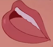 Belle's mouth screen