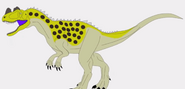 Ceratosaurus-100-dinosaurs-500-subscribers