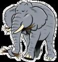 Elephant hugo safari pc