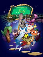 Judy in Wonderland (1951) Poster