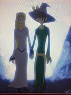 Princess Kyra & Eric the Spellbinder (Reversal of the Heart) as Gepetto