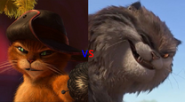 Puss in Boots vs Banzou