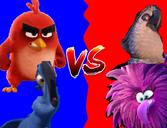 Blu and Red vs Nigel and Zeta