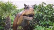 Chester Zoo Carnotaurus