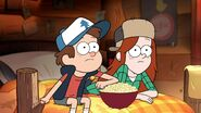 Dipper and wendy are watching movies