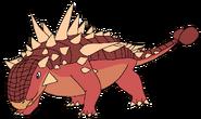 Jay Spacebot euoplocephalus form dinosaur in thespacebotsadventuresseries