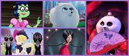 Mindy, Gidget, Mei Mei, Songbird Serenade and Scarlet Overkill