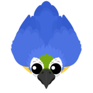 Mopeio Blue Macaw