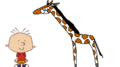 Stanley Griff meets Reticulated Giraffe