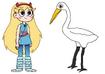 Star meets Egret