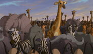 Animals of the Pride Lands (The Lion King)
