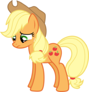 Applejack is sad by fureox-d6jzqym