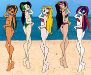 Bday gift and request sodor girls beach day by sup fan desraud-fullview