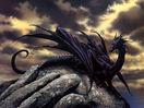 Black European Dragon