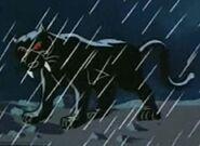 Black Saber-Toothed Pantherasaurus